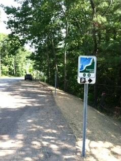 New parking spots added near the Eastern Trail in Arundel 2014