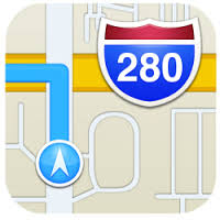 iPhone maps logo