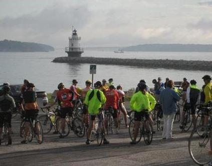 MLR Ride Start near Spring Point Ledge Lighthouse