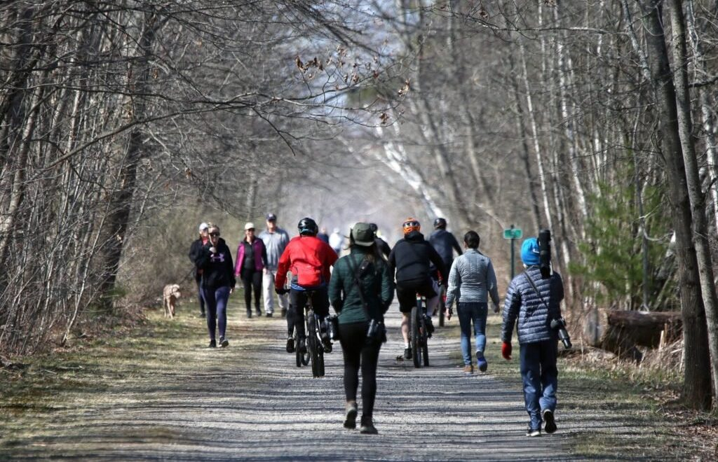 People on the Eastern Trail