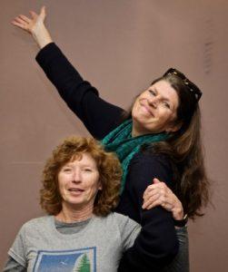 Carole and Nancy