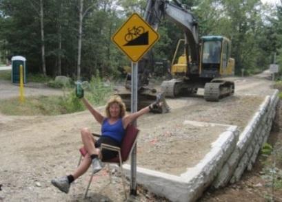Carole Brush on the Eastern Trail