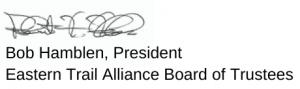 Bob Hamblen signature